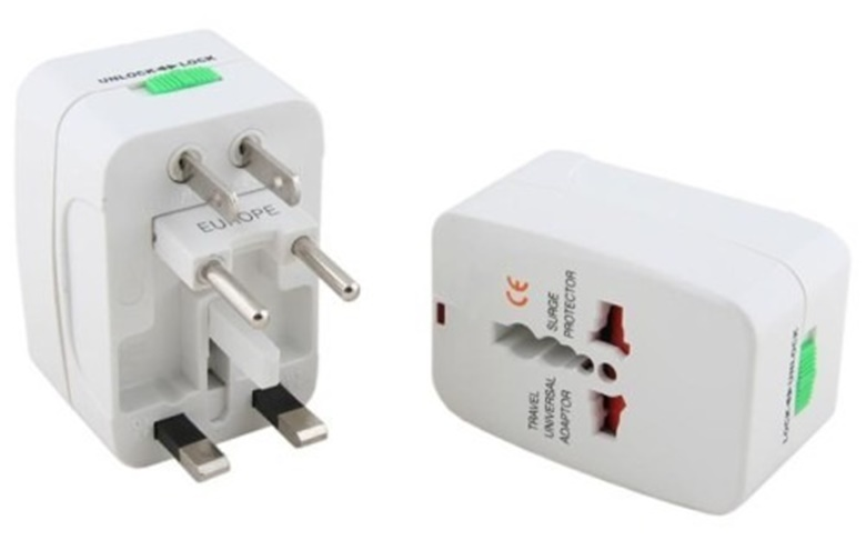 Adaptador enchufe ALL-IN-ONE