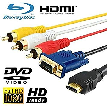 Cable audio, vídeo,HDMI, MACHO-VGA A4001 LINQ