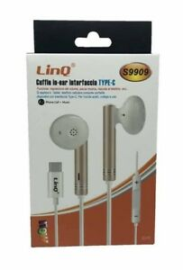 Auriculares linQ Tipo C S9909